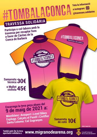 Es posen a la venda productes esportius solidaris per a col·laborar amb #tombalaconca